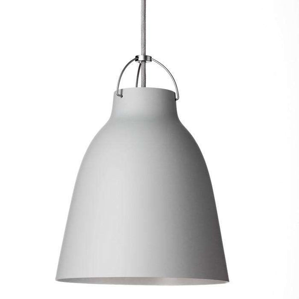 Caravaggio Matt pendant Light grey / 16,5 / 3