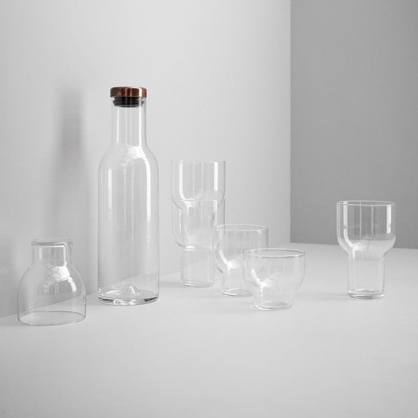 Stackable Glass, 33 Cl, 4 pc.