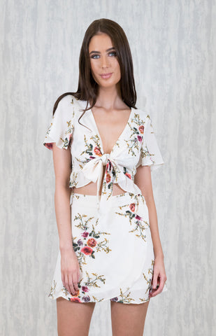 Floral Bell Set - White - April Bloom Boutique AU