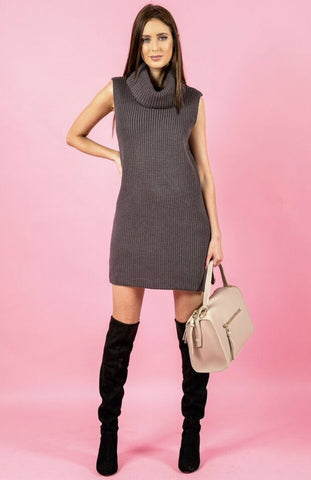 Turtleknit Dress - April Bloom Boutique AU