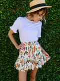 Blossom Mini Skirt