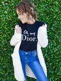 Oh My Dior! Tee - Black