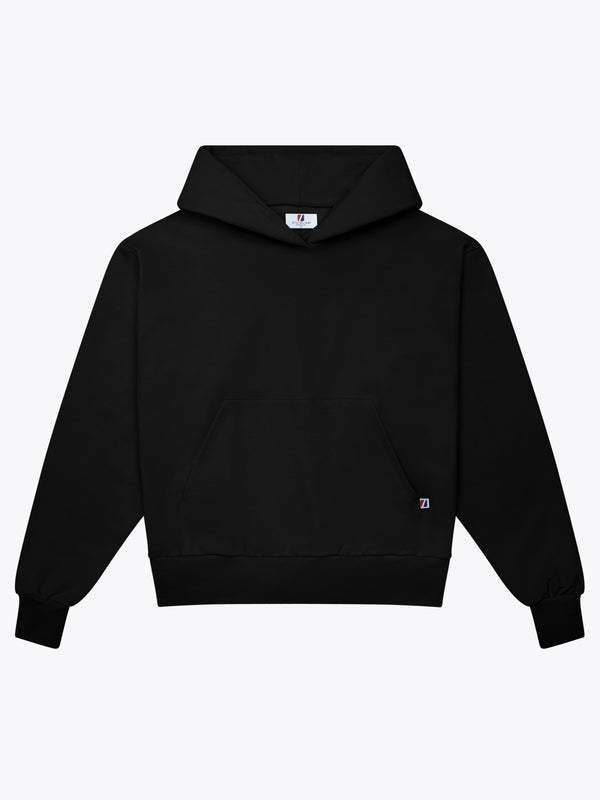9oz Work Fit Hoodie - Black