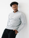 Athletic Fit Crew Neck - Heather Grey