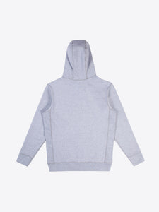 Athletic Fit Zip Hoodie - Heather Grey