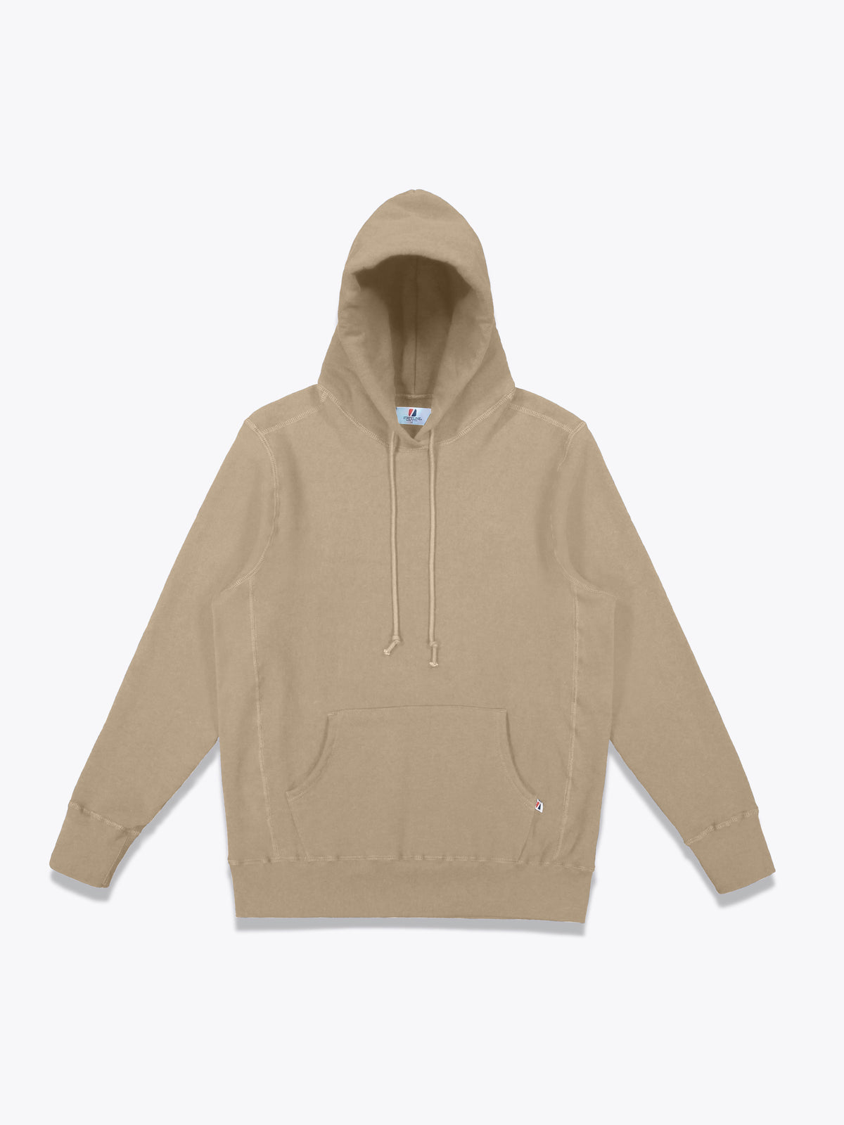Athletic Fit Hoodie - Khaki