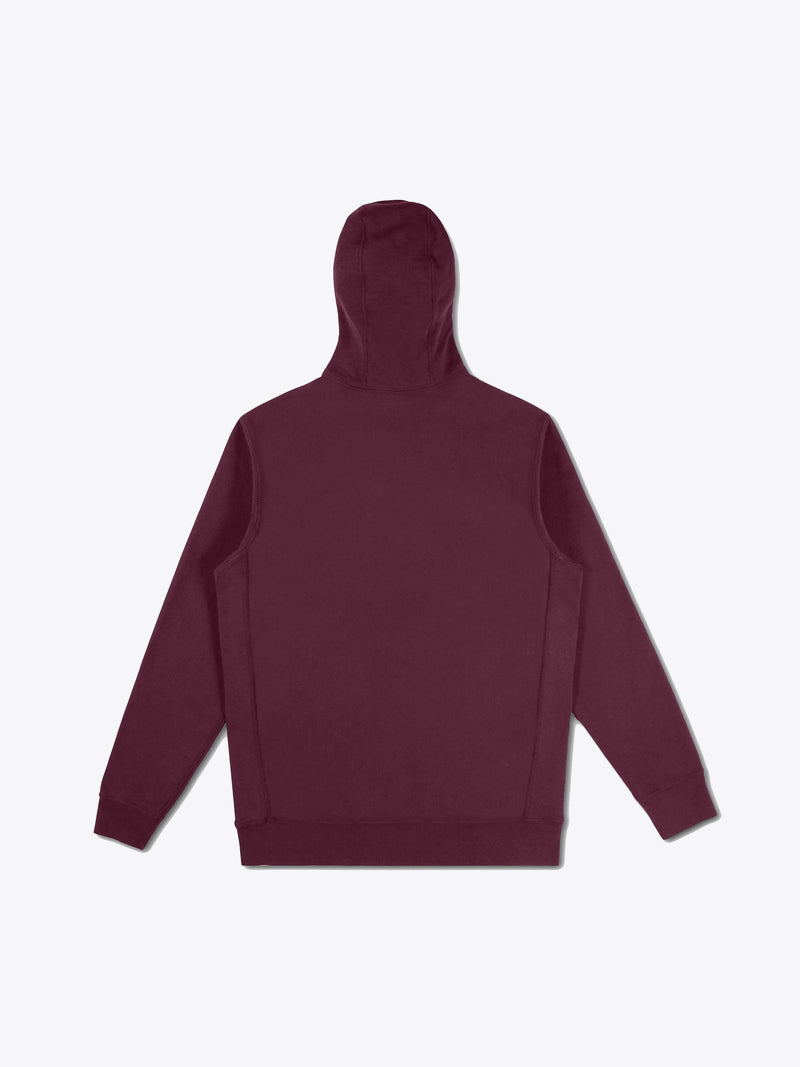 Athletic Fit Hoodie - Oxblood