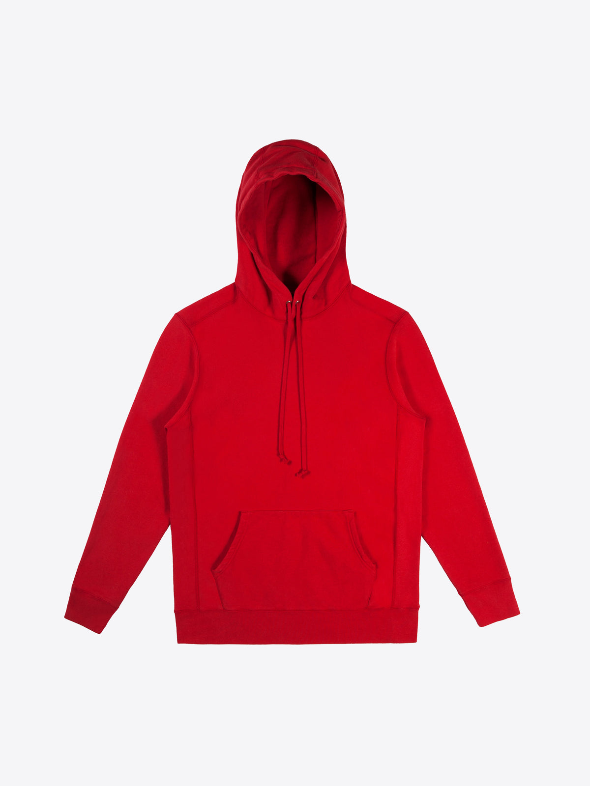 Athletic Fit Hoodie - Red