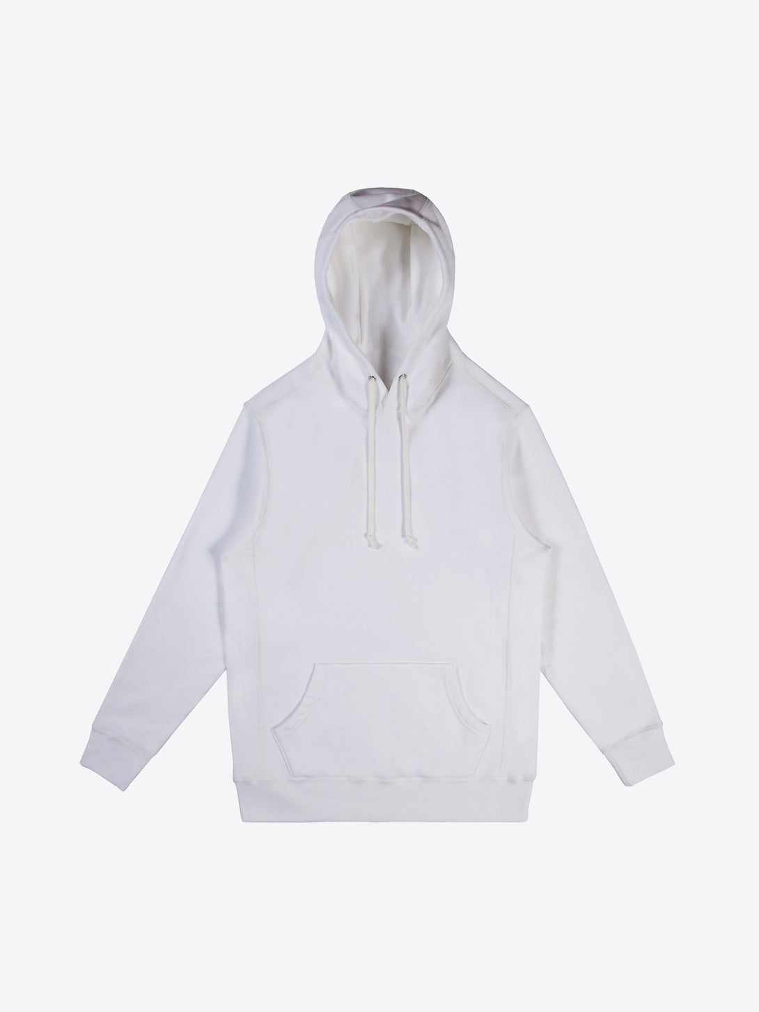 Athletic Fit Hoodie - White