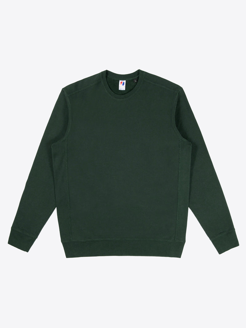 Athletic Fit Crew Neck - Dark Green