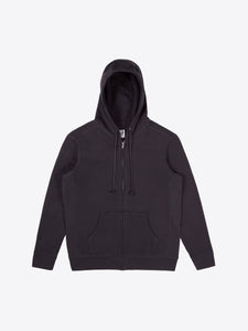 Athletic Fit Zip Hoodie - Black