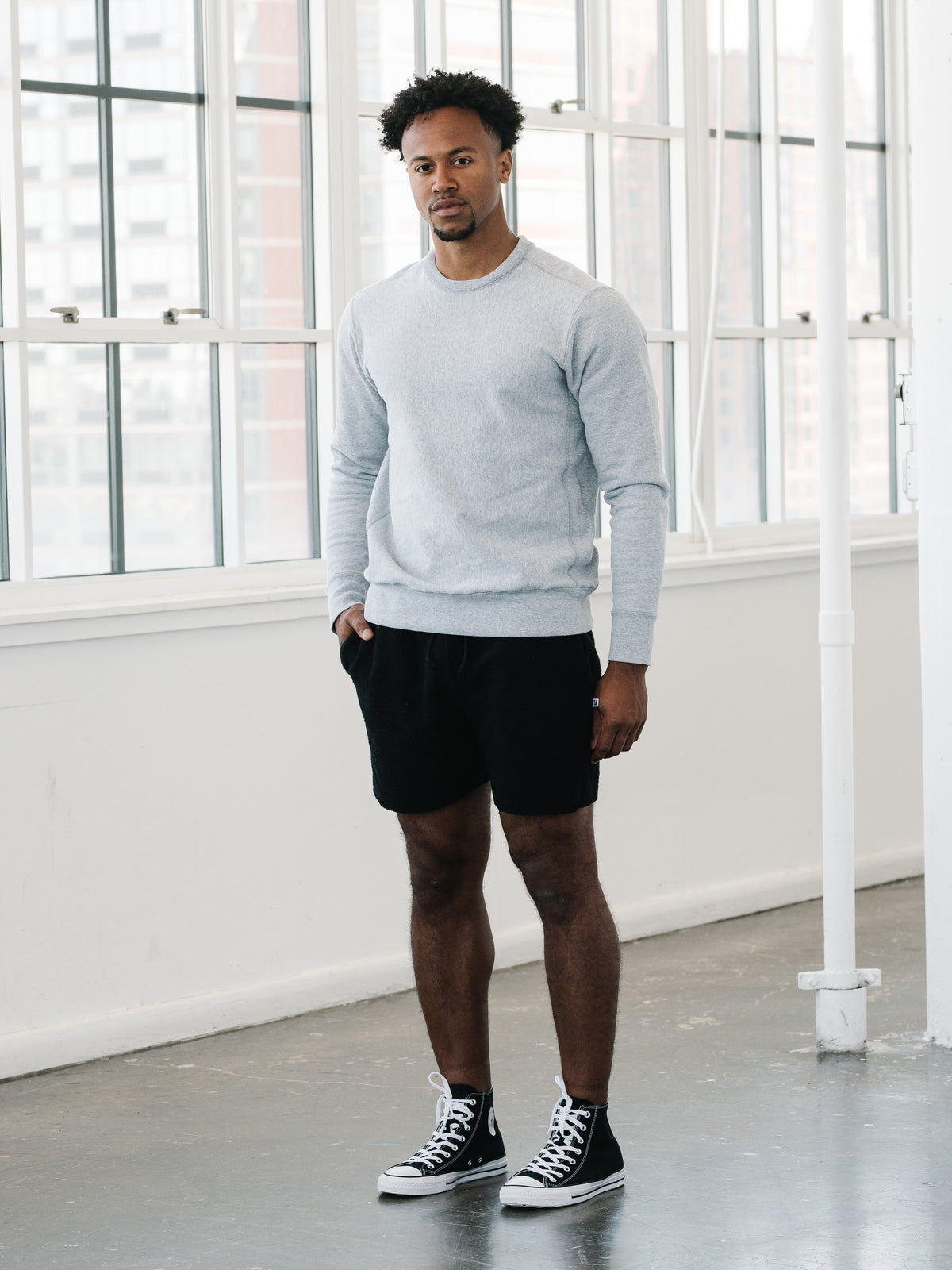 Camp Fit Sweatshorts - Black