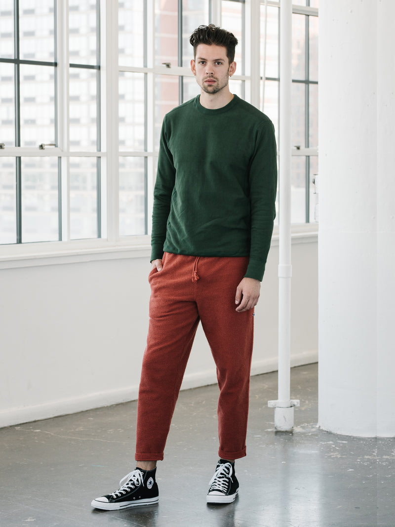 Camp Fit Sweatpants - Rust
