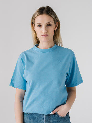 Jersey S/S Tee - College Blue