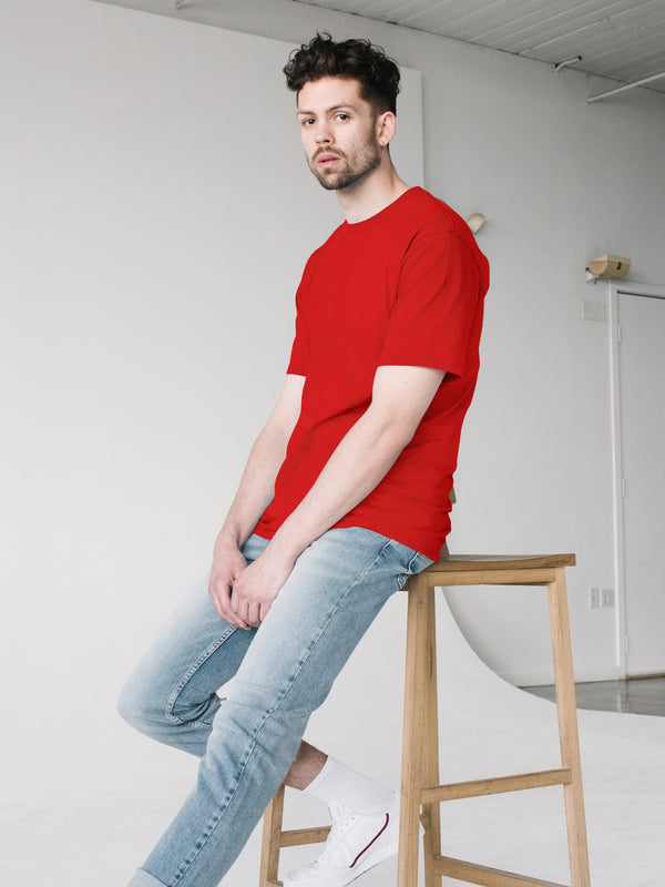 Jersey S/S Tee - Red
