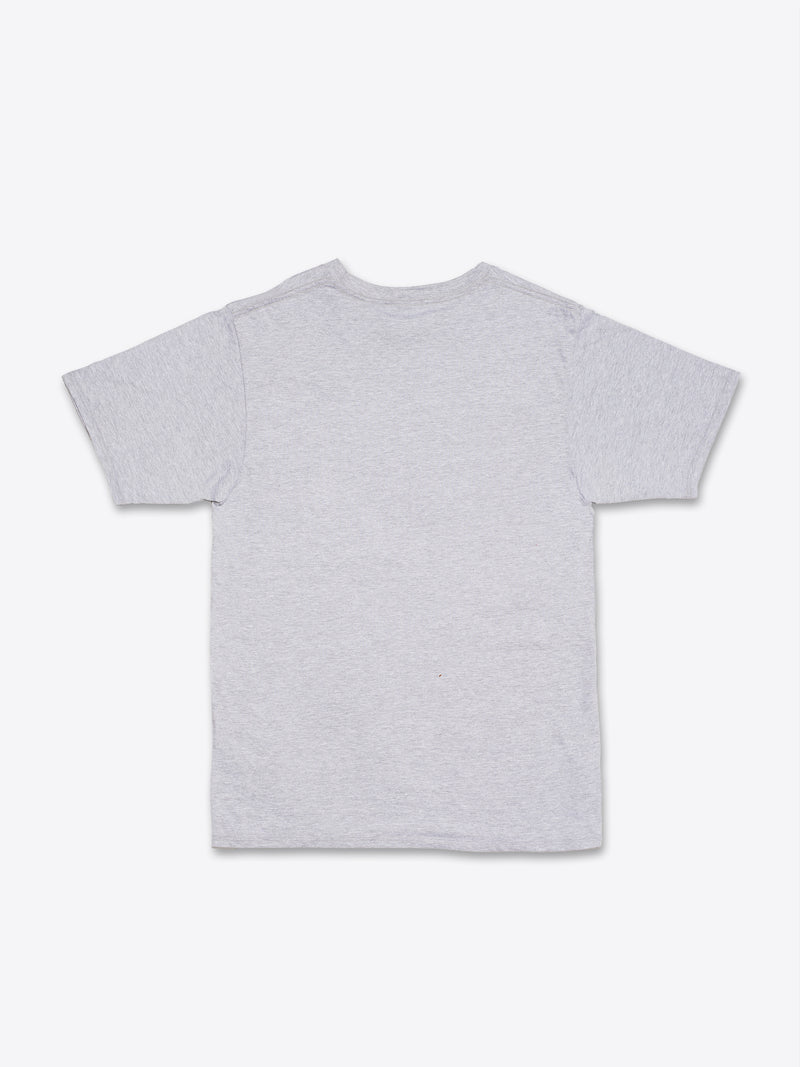 Jersey 'Borderline' S/S Tee - Heather Grey