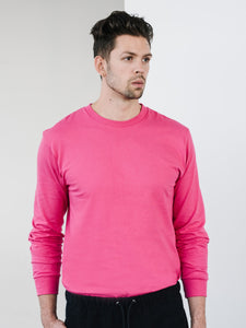 Jersey L/S Tee - Hot Pink