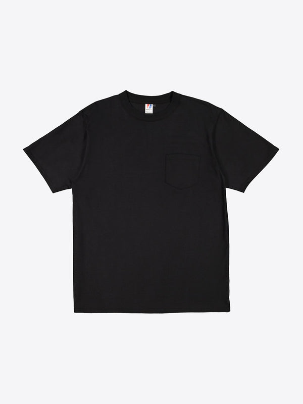 Jersey S/S Pocket Tee - Black
