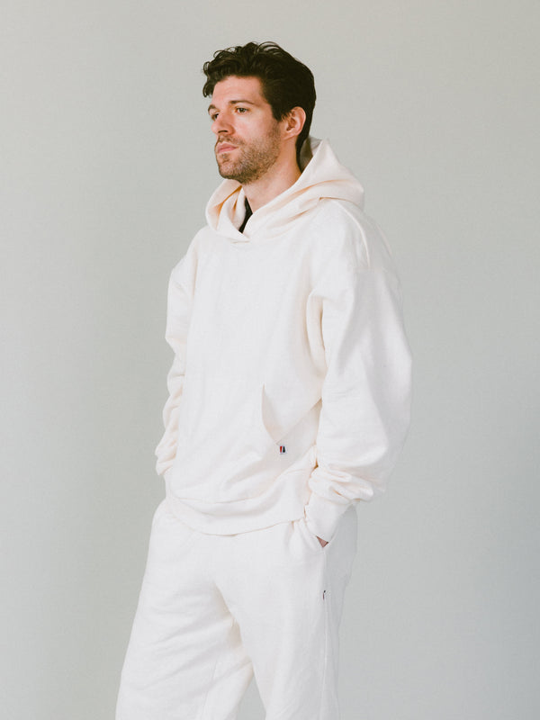 9oz Work Fit Hoodie - Canvas