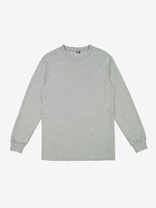 Jersey L/S Tee - Heather Grey