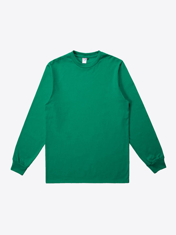 Jersey L/S Tee - Kelly Green