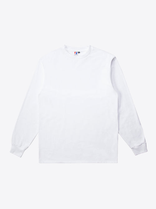 Jersey L/S Tee - White