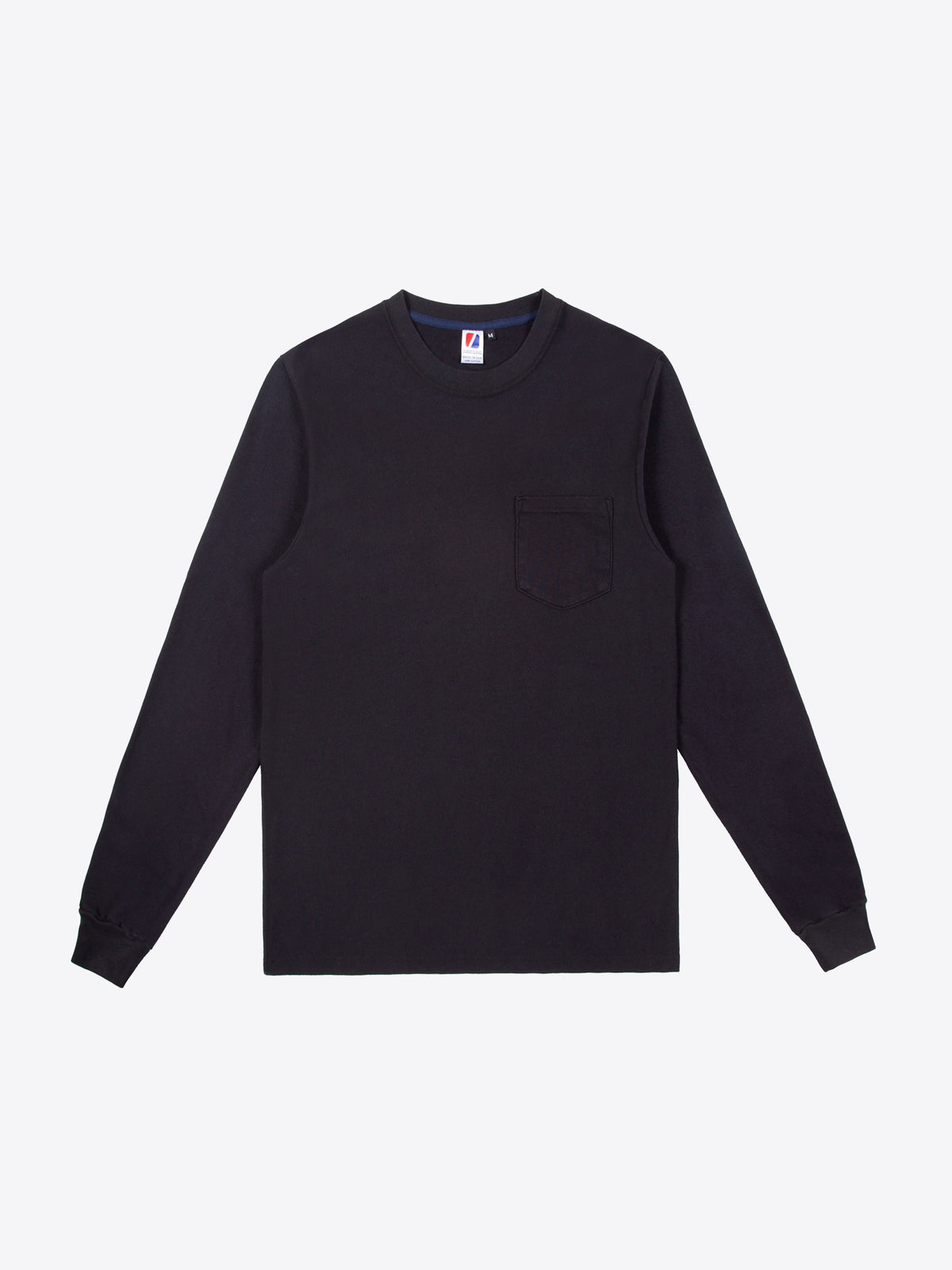 Rugby L/S Pocket Tee - Black