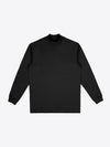 Jersey Mock Neck - Black