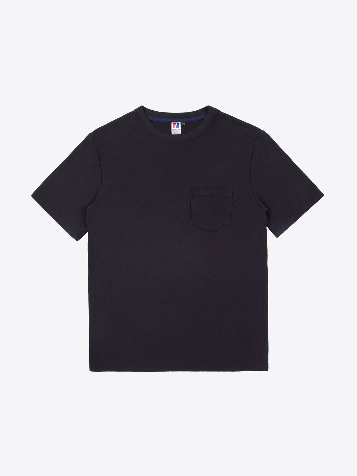 Rugby S/S Pocket Tee - Black