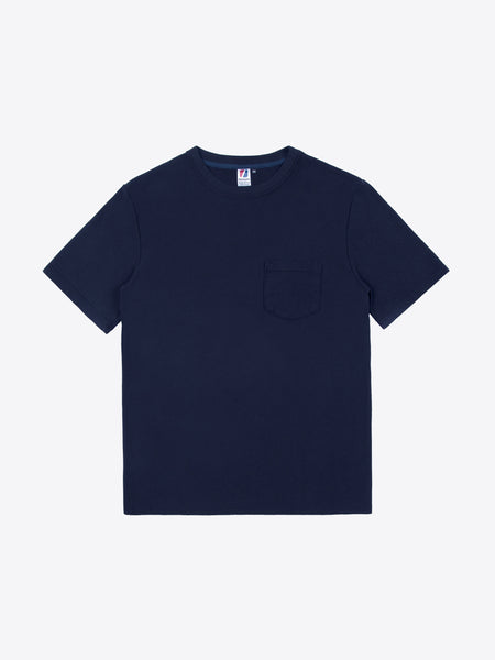 Rugby S/S Pocket Tee - Navy