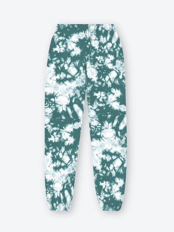 Tie Dye Classic Sweatpants - Teal Splatter (Made to Order)