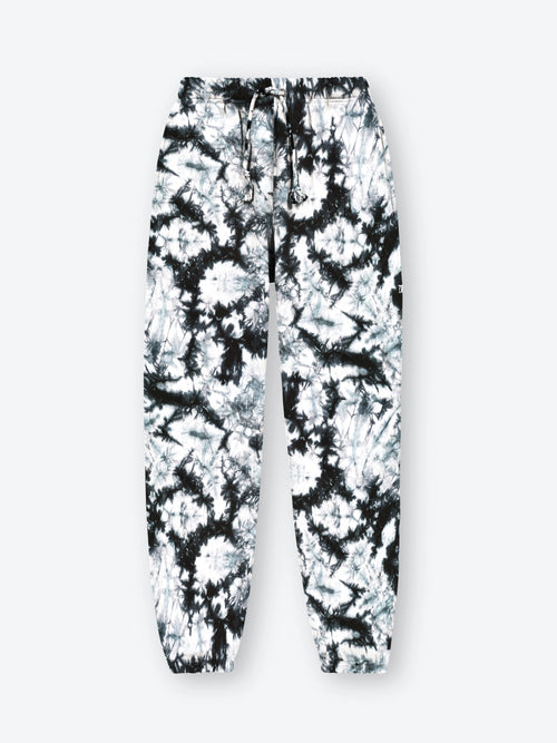 Tie Dye Classic Sweatpants - Black Splatter (Made to Order)