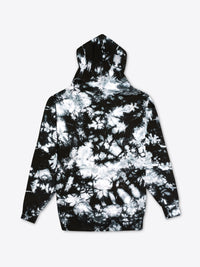Tie Dye Work Fit Hoodie - Black Splatter