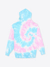 Tie Dye Work Fit Hoodie - Cotton Candy