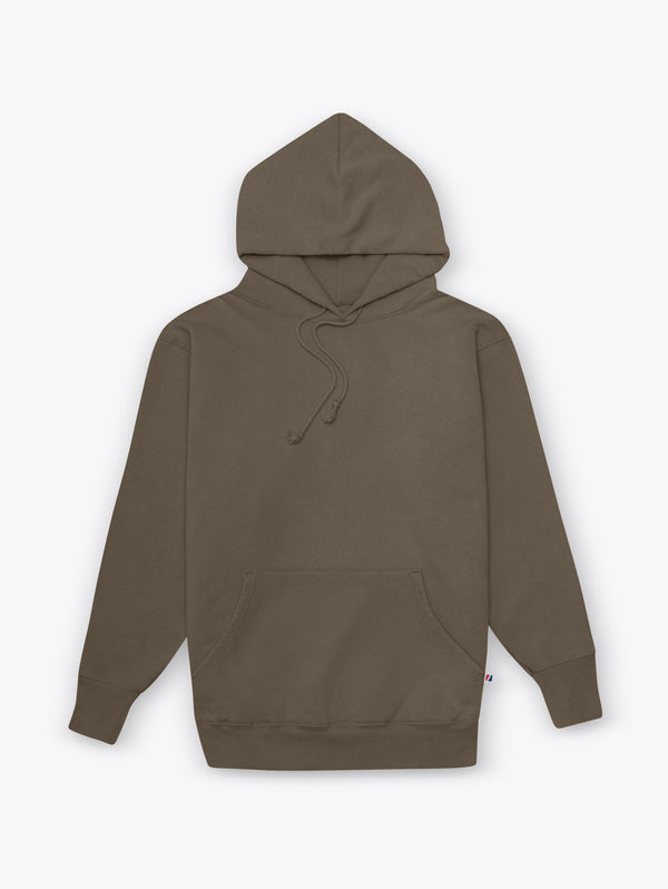 Work Fit Hoodie - Coffee