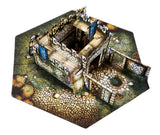 Charlie's Castle Pop-Up Terrain, 12 Inch - Digital Download - Printing & Assembly Required