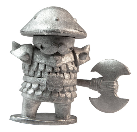 Mushroom Warrior with Axe, 32mm