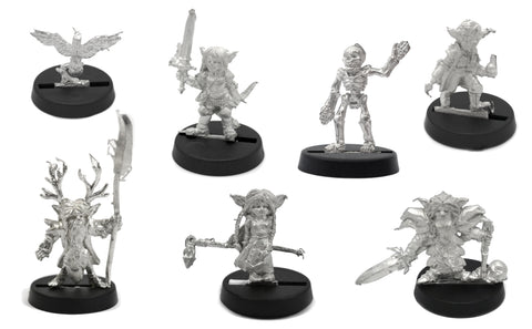 6 Piece Heroes of Sprocketshire Set