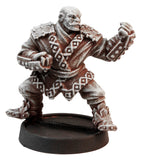 Male Human Monk, 36mm