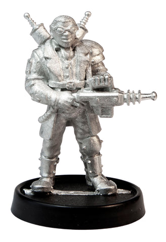 Male Human Mad Scientist, 37mm