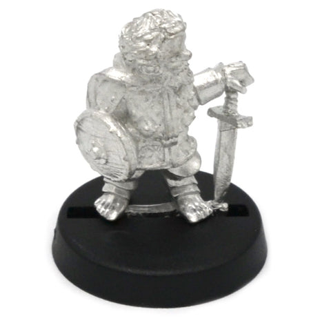Halfling Soldier with Beard, 22mm