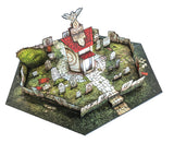 Graveyard Pop-Up Terrain, 12 Inch - Digital Download - Printing & Assembly Required