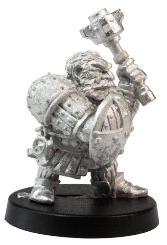 Male Dwarven Cleric, 33mm