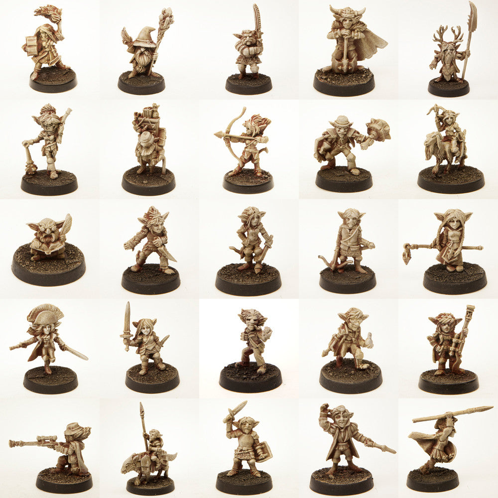 Gnomes Set of 37