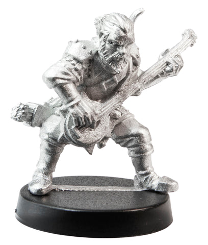 Male Human Bard, 33mm
