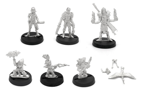 8 Piece Nomads of the Great Veldt Set
