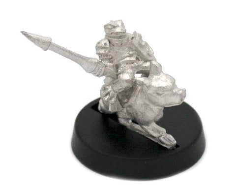 Grippli Knight Mounted on Pig, 23mm