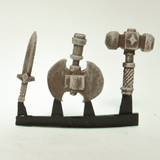 Axe, Sword, and Large Hammer Accessories, 19mm