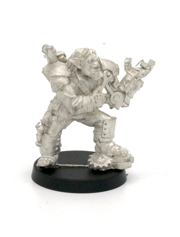 Half-Orc Mechanist, 30mm