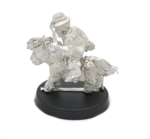 Halfling Wool Merchant Mounted on Pony, 29mm